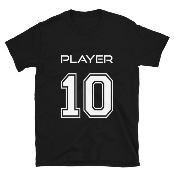 Football Player Number 10 T-Shirt
