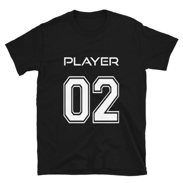 Football Player Number 2 T-Shirt