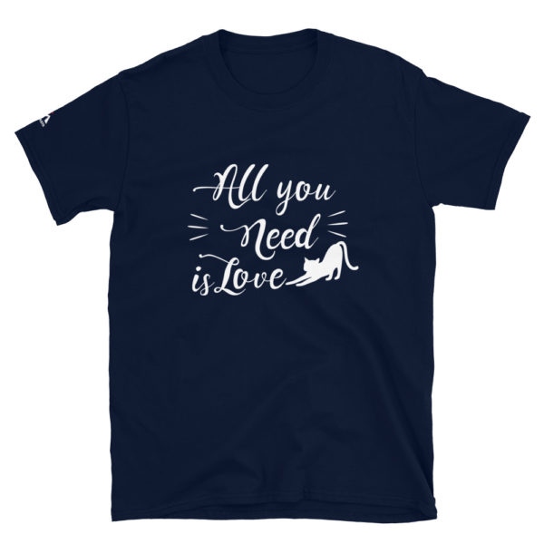 All you need is love - Cat T-Shirt