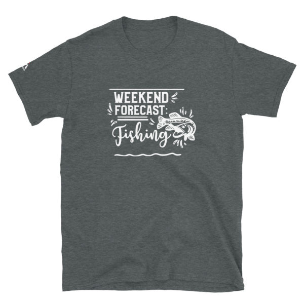 Weekend forecast fishing T-Shirt