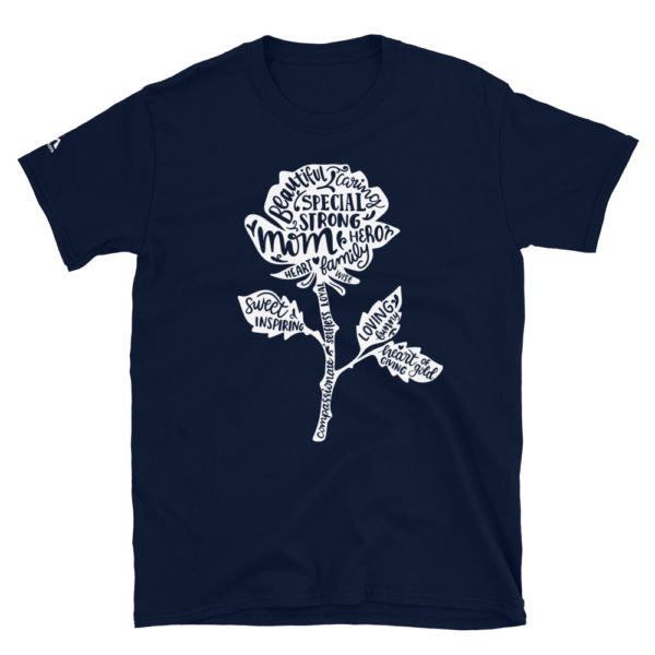 Mom is beautiful, special, caring, strong, sweet, loving, inspiring ... T-Shirt