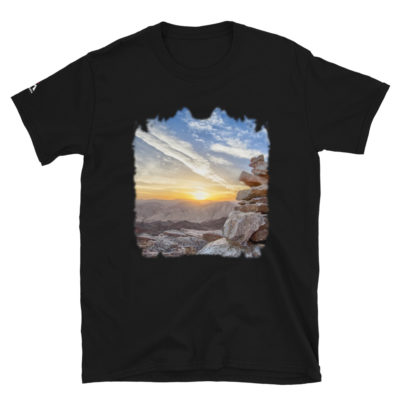 Mountain Sunset Wallpaper T-Shirt